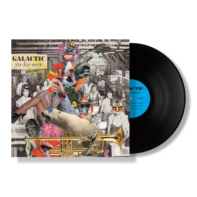 Galactic - YA-KA-MAY - LP & Deluxe DL