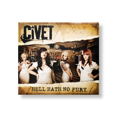 Civet - Hell Hath No Fury - CD