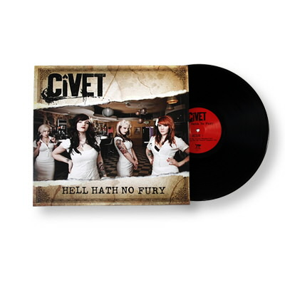 Civet - Hell Hath No Fury - LP