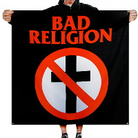 IMAGE | Bad Religion - Crossbuster Flag