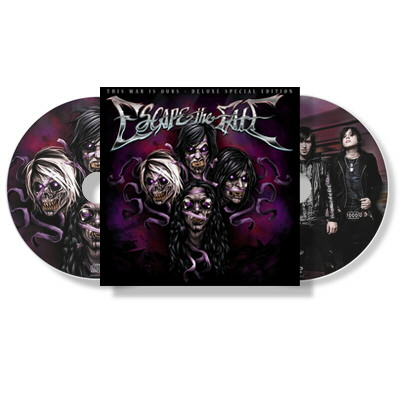 Escape The Fate - This War Is Ours Deluxe - CD/DVD