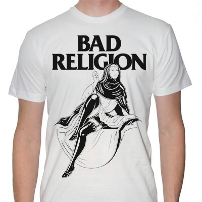 Bad Religion - Sexy Nun Shirt