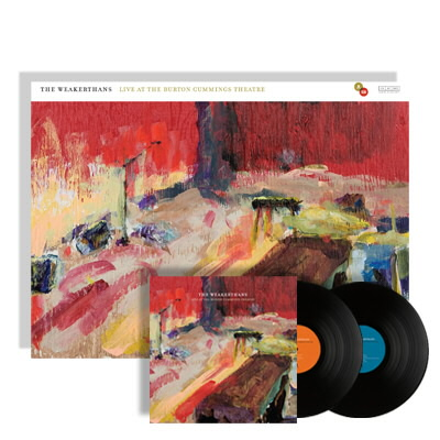 The Weakerthans - Live At The Burton...2xLP/DVD & Giclee Print