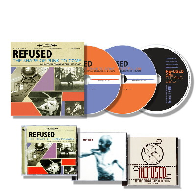 Refused - Refused Deluxe CD/DVD Fan Pack