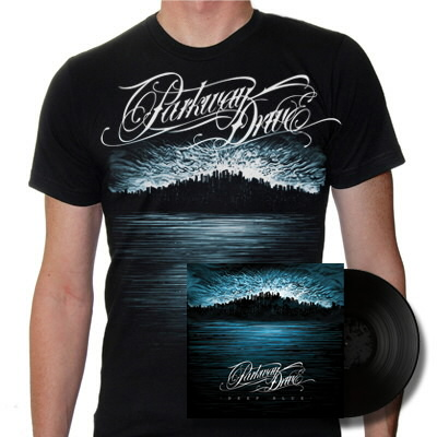 epitaph-records - Deep Blue 2xLP & Skyline Shirt