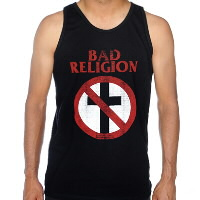 IMAGE | Bad Religion - Distressed Cross Buster Tank Top