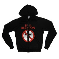 IMAGE | Bad Religion - Classic Distressed Cross Buster AA Zip-up