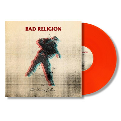 Bad Religion - The Dissent Of Man LP (Orange)