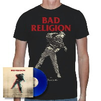 IMAGE | Bad Religion - The Dissent Of Man LP (Blue Vinyl) & Black Shirt