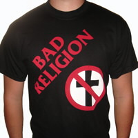 "IMAGE | Bad Religion - Cross Buster - Original 7"" Tee"