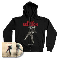 IMAGE | Bad Religion - The Dissent Of Man CD & Hoodie