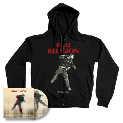 Bad Religion - The Dissent Of Man CD & Hoodie