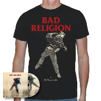 IMAGE | Bad Religion - The Dissent Of Man CD & Shirt (Black)