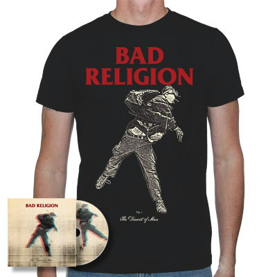 Bad Religion - The Dissent Of Man CD & Shirt (Black)