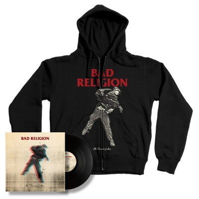 Bad Religion - The Dissent Of Man LP & Hoodie