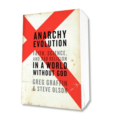 Bad Religion - Anarchy Evolution Hardcover Book