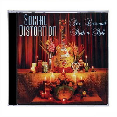 Social Distortion - SD Sex, Love & Rock N' Roll CD