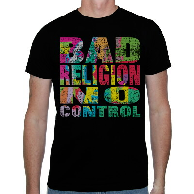 IMAGE | Bad Religion - No Control Shirt
