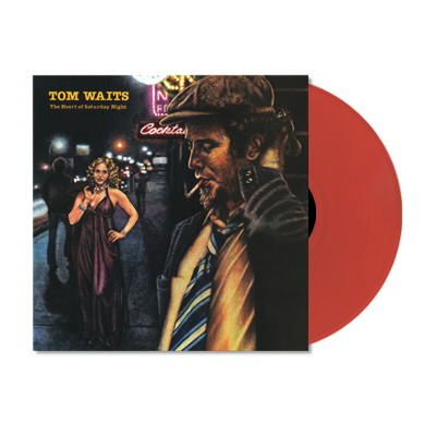 Tom Waits - The Heart Of Saturday Night LP (Red 180 gram)