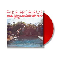 IMAGE | Fake Problems - Real Ghosts Caught On Tape LP (Red Vinyl)