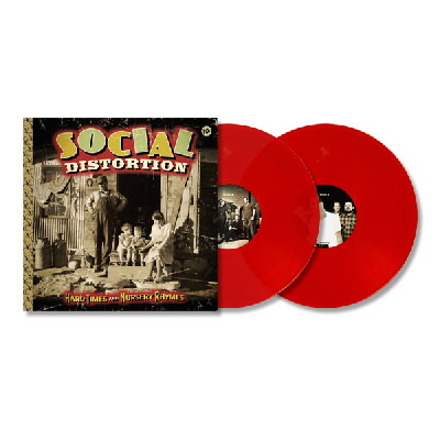 Social Distortion - Hard Times & Nursery Rhymes LP (Red Vinyl)