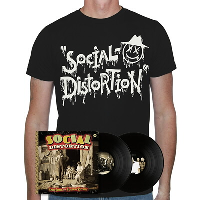 social-distortion - Hard Times & Nursery Rhymes LP (Black) & X'd Eye Guy (Social D)