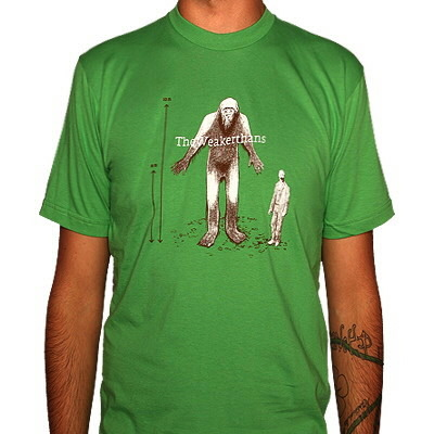 The Weakerthans - Bigfoot Shirt