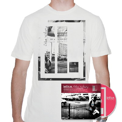 IMAGE | Letlive - Fake History CD & Mens' Shirt