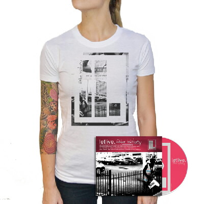 Letlive - Fake History CD & Womens Shirt