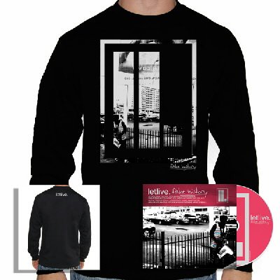 Letlive - Fake History CD & Crewneck Sweatshirt