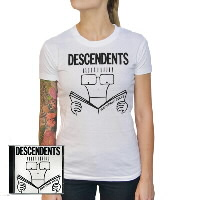 IMAGE | Descendents - Womens Everything Sucks CD & Shirt