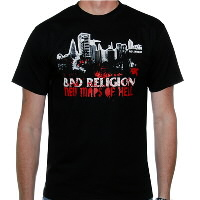 IMAGE | Bad Religion - New Maps Of Hell Shirt (Black)