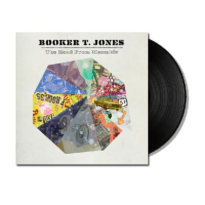 Booker T Jones - The Road From Memphis - LP & DL
