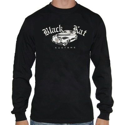Black Kat Kustoms - 39 Mercury Longsleeve (Black)
