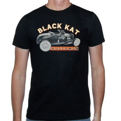 black-kat-kustoms - Hot Rod Tee