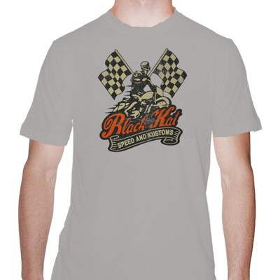 black-kat-kustoms - Speed And Kustoms Tee