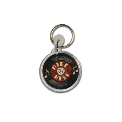 mike-ness - Record Key Chain