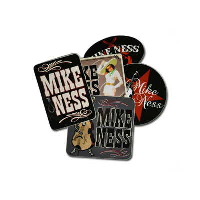 mike-ness - Sticker Set