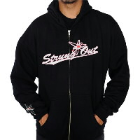 IMAGE | Strung Out - Baseball Zip-Up Hoodie
