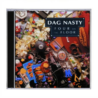 epitaph-records - Dag Nasty - Four On The Floor - CD