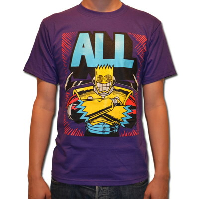 ALL - All Samurai Shirt Purple