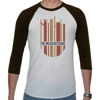 The Weakerthans - Shield Baseball Tee