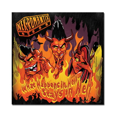 Nekromantix - What Happens In Hell, Stays In Hell - CD