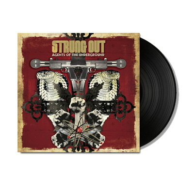 strung-out - Agents Of The Underground LP (Black)