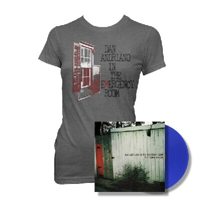Dan Andriano In The Emergency Room - Hurricane Season LP (Blue) & Womens Shirt