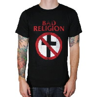 IMAGE | Bad Religion - Distressed Cross Buster Tee