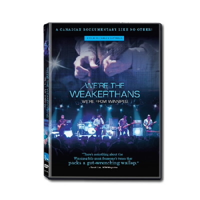 anti-records - We're The Weakerthans - DVD
