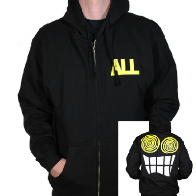 epitaph-records - Allroy Zip-Up Hoodie (Black)