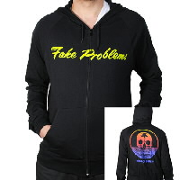 IMAGE | Fake Problems - Beach Punk Zip-Up Hoodie
