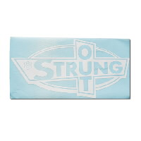 "IMAGE | Strung Out - Big Ass OG Logo Sticker White (12.5"" x 24"")"